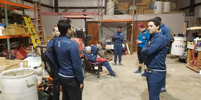 As road teams huddle in bathrooms, warehouses, what are venue standards for US Open Cup qualifying?