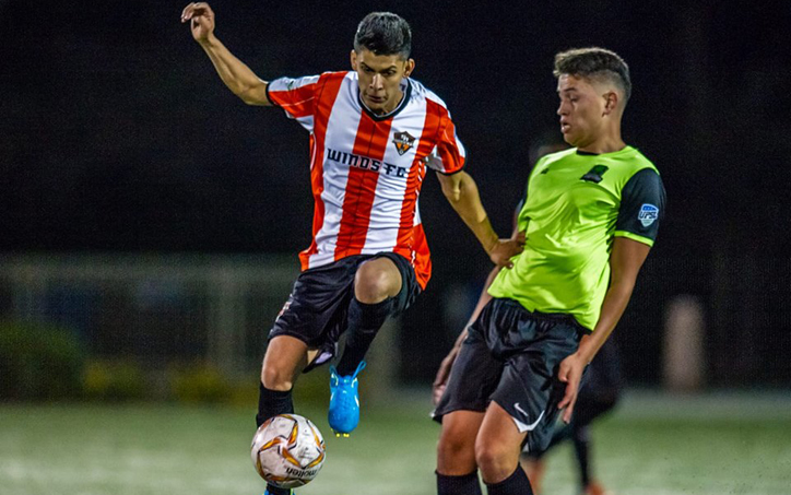 The Santa Ana Winds defeated the San Pedro Monsters 4-1 in the final round of Open Division qualifying to punch their ticket to the 2018 US Open Cup. Photo: Santa Ana Winds