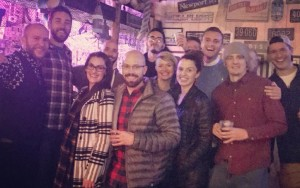 FC Denver and friends out on the town. Photo: FC Denver