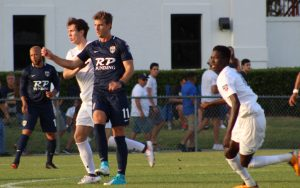 With the win over SIMA Aguilas, Jacksonville Armada earned back-to-back US Open Cup wins for the first time in club history. Photo: Austin David