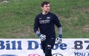 Seacoast United Phantoms goalkeeper Mitch Stedman made two saves in the penalty kick shootout to eliminate Kendall Wanderers in the 2018 US Open Cup. Photo: Ashley MacLaughlin | Seacoast United Phantoms