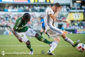 The Portland Timbers and Los Angeles Galaxy met for the first time in the Round of 16 of the 2016 US Open Cup.