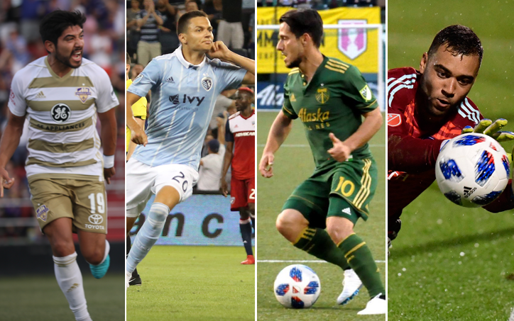 2018 US Open Cup Round 5 Player of the Round nominees