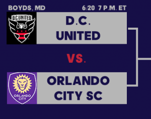 DC United vs. Orlando City SC - 2018 US Open Cup