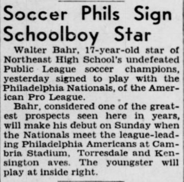Philadelphia Inquirer, Dec. 2 1943