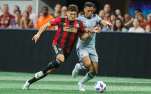 Chicago Fire edged Atlanta United 1-0 in the Round of 16 of the 2018 US Open Cup. Photo: Atlanta United FC
