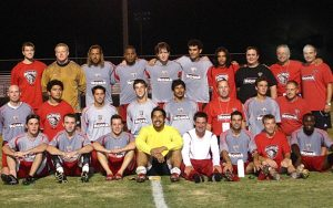 Dallas Roma FC poses for a team photo following the club's 1-0 home win over Miami FC in the Second Round of the 2006 US Open Cup. Photo: Dallas Roma FC