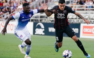 FC Dallas and San Antonio FC met in the Fourth Round of the 2018 US Open Cup. Photo: Darren Abate | USL