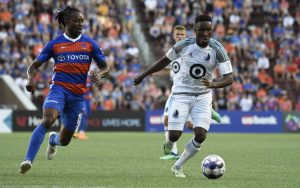 Minnesota United eliminated FC Cincinnati in penalty kicks in the Fourth Round of the 2018 US Open Cup. Photo: Brett Hansbauer/4th Floor Creative