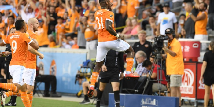 2018 US Open Cup Quarterfinals: Romell Quioto of Houston Dynamo named TheCup.us Player of the Round