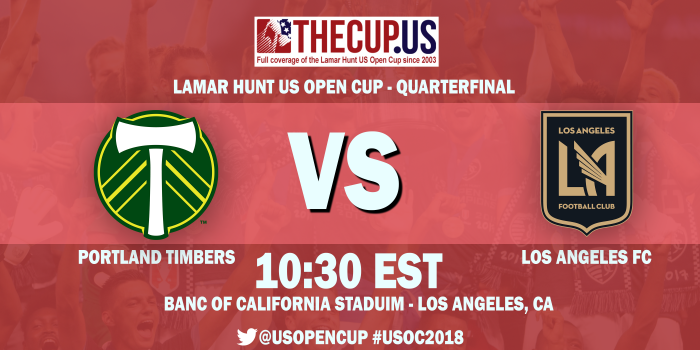 2018 US Open Cup Quarterfinals: Portland Timbers file protest claiming LAFC fielded too many international players