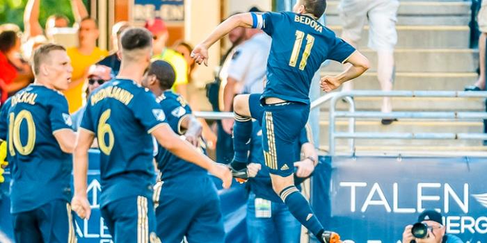 2018 US Open Cup Quarterfinals: Bedoya's early goal holds up as Philadelphia Union edge Orlando City