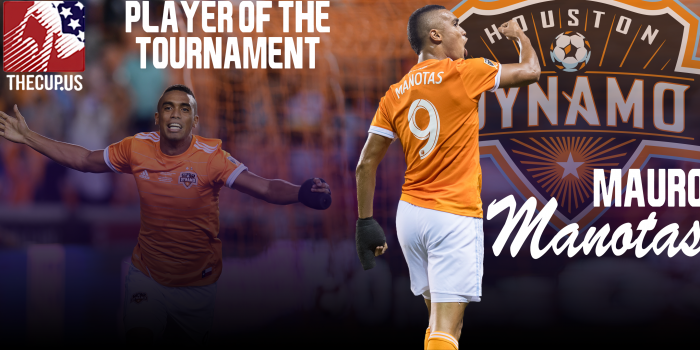 2018 US Open Cup: Mauro Manotas of Houston Dynamo voted TheCup.us Player of the Tournament