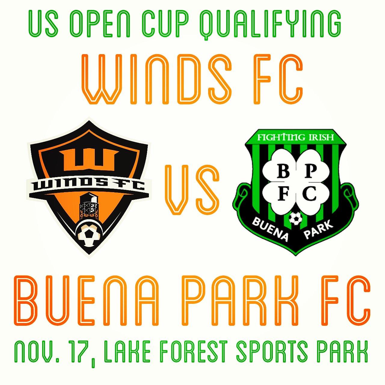 Santa Ana Winds vs. Buena Park FC