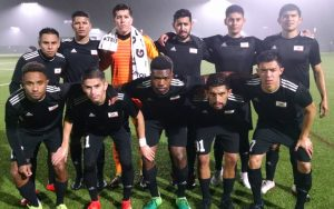Cal FC poses for a team photo before they take on Cal United FC II in the Open Division Local qualifying tournament for the 2019 US Open Cup. Photo: Cal FC