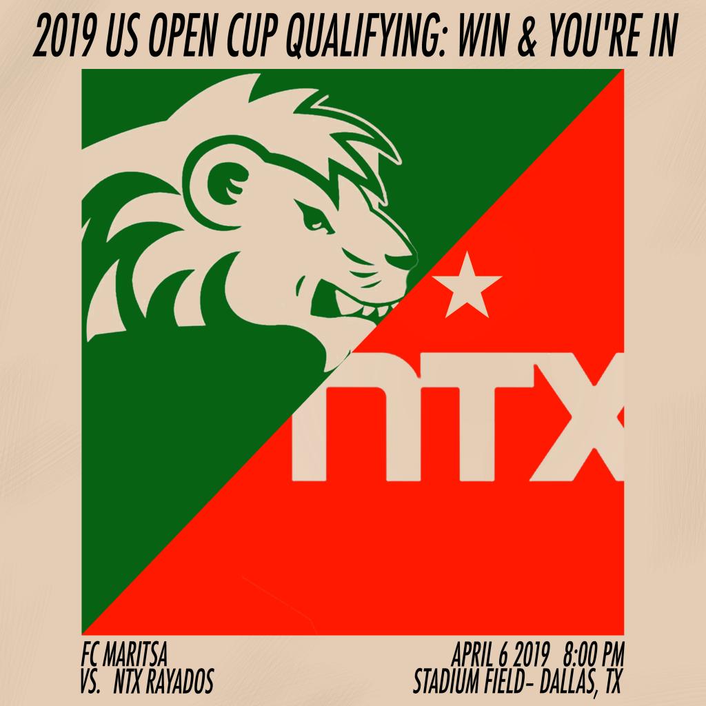 2019 us open cup qualifying - fc maritsa vs ntx rayados