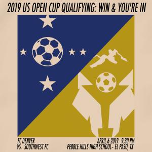 2019 us open cup qualifying - fc denver vs. Southwest fc