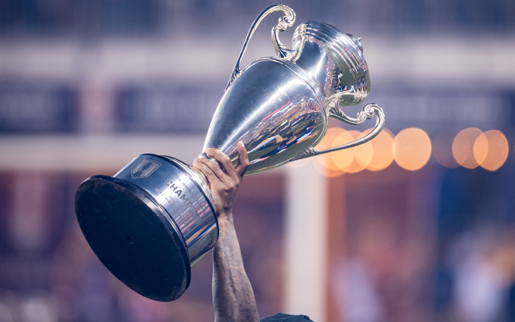 The Houston Dynamo lift the trophy after winning the 2018 US Open Cup title. Photo: Houston Dynamo