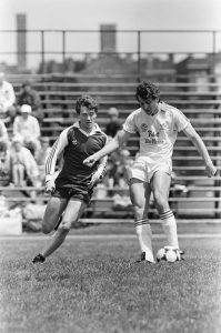 A photo from a Bavarian SC game from the 1978 US Open Cup.