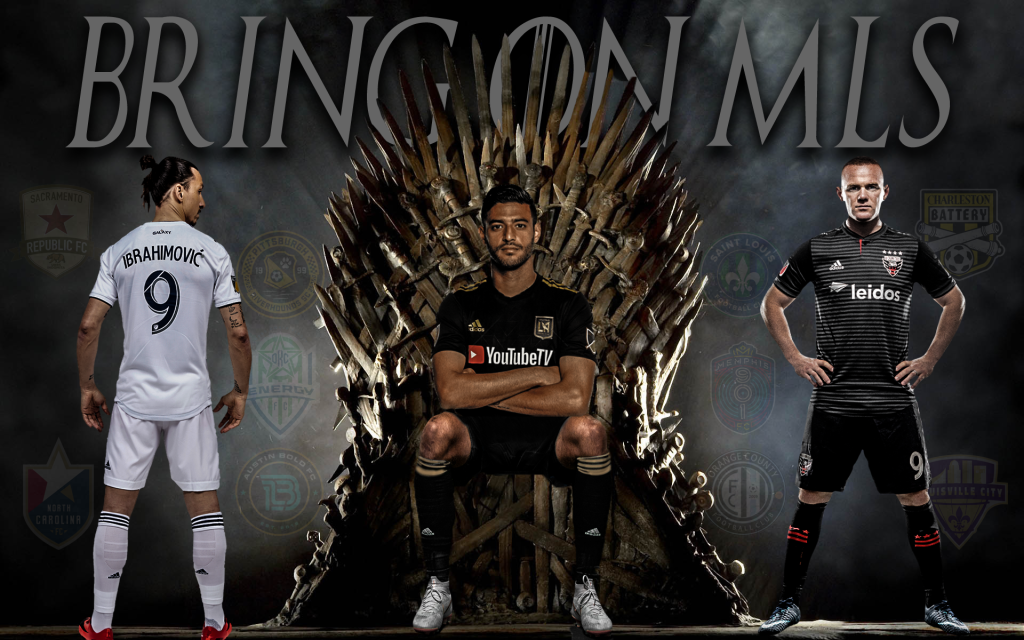 Bring on MLS Game of Thrones Graphic by Dallas Kreil | IG: @dak_design