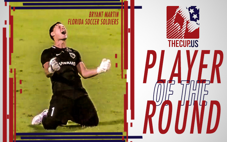 Bryant Martin - Florida Soccer Soldiers, TheCup.us Player of the Round