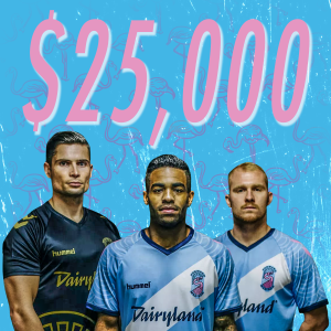 As the last remaining Division 3 pro team in the 2019 Lamar Hunt US Open Cup, Forward Madison FC of USL League One has won $25,000 in prize money. Graphic by Dallas Kreil | IG: @dak_design