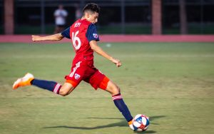 16-year-old Ricardo Pepi made his debut with FC Dallas in the club's Fourth Round match against OKC Energy FC in the 2019 US Open Cup. Photo: FC Dallas
