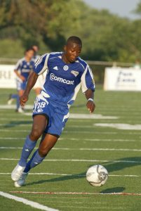Melvin Tarley of the Minnesota Thunder tied for the tournament lead with six goals in the 2005 US Open Cup.