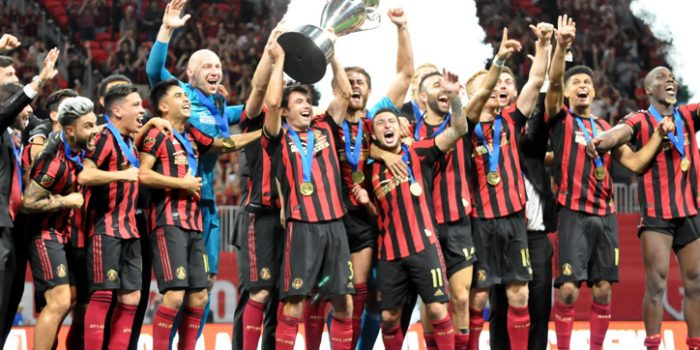 2019 US Open Cup Final: Record crowd watches Atlanta United become first Georgia team to lift the trophy