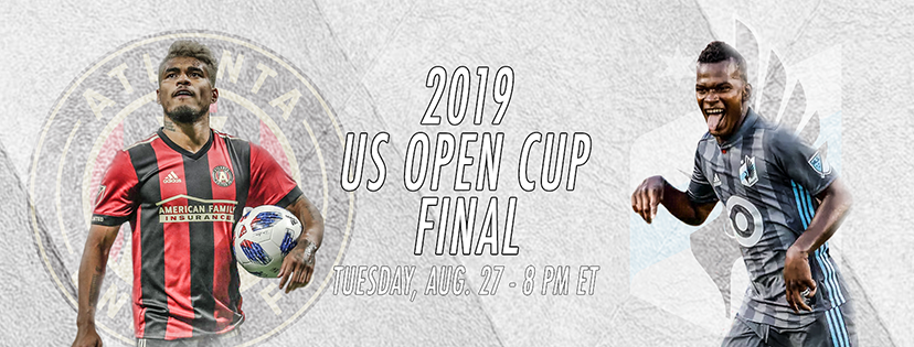 2019 US Open Cup Final banner