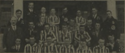 A team photo of Merchants Ship (Bristol, PA) from 1919