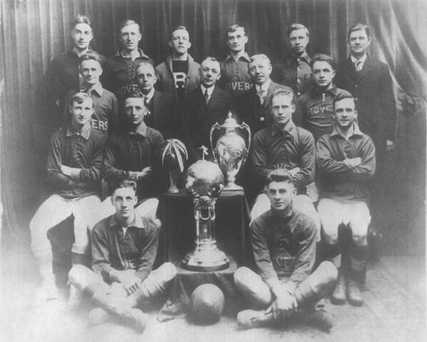 Fall River Rovers - 1916/1917 National Challenge Cup champions