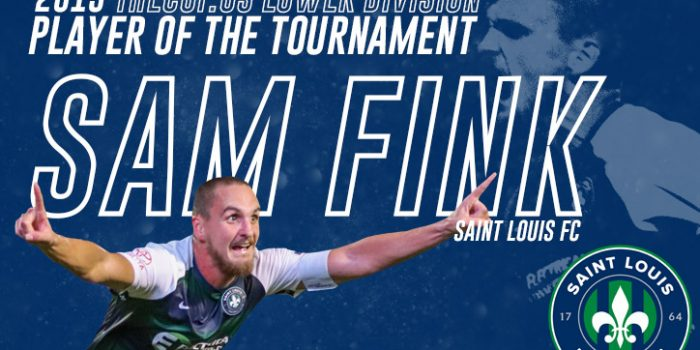 Sam Fink of Saint Louis FC voted TheCup.us Lower Division Player of the Tournament for 2019 US Open Cup